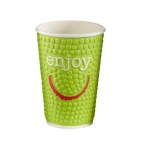 Enjoy Double Wall Disposable Hot Cups 16oz