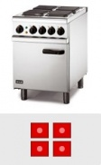 4 Plate Electric Ovens