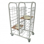 P104 Self Clearing Trolley - Double