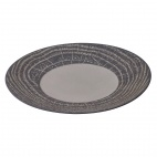 Arborescence Round Plate Black 310mm