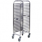 Stainless Steel Trolley 20 Shelves