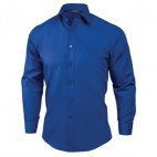 A757-S Unisex Dress Shirt - Royal Blue