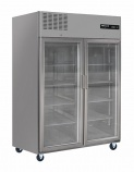 BH2SSCR 1200 Ltr Double Glass Door Upright Refrigerator