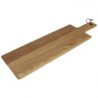 Oak Handled Wooden Board Medium