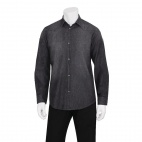 Urban Trenton Denim Long Sleeve Shirt Black M