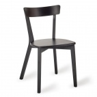 Wooden Sidechair Black (Pack of 2)