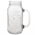 Handled Mason Jar 700ml