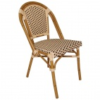 CF402 Continental Bistro Wicker Sidechair (Pack of 4)