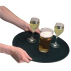 J847 Round Anti-Slip Tray