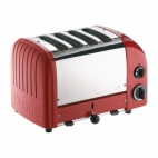 2x2 Combi Vario Toaster Red
