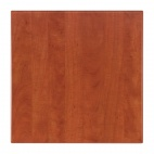 Werzalit Square Table Top Wild Pear Cognac 600mm