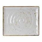 Craft White Melamine GN 1/2 Rectangular Platter 325mm