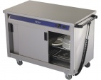 HC30MS Plain Top Mobile Hot Cupboard