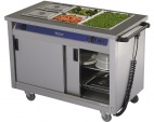 BM30MS Mobile Hot Cupboard - Bain Marie Top