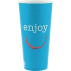 Enjoy Paper Cold Cups 22oz