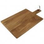 Oak Handled Wooden Board Large