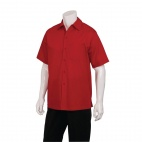 Cafe Shirt Red L