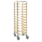 P165 Self Clearing Trolley - Single