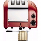 CD353 2+1 Combi Vario Toaster Red