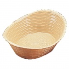 P017 Oval Polypropylene Basket