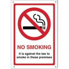 G537 No Smoking Premises Sign