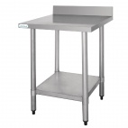 T380 Stainless Steel Table (with Upstand)