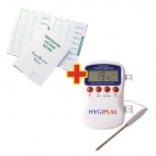 Hygiplas Multistem Thermometer And Temperature Log Book