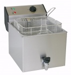 FD 120R 12 Ltr Single Tank Counter Top Fryer with Drain Tap