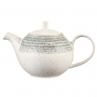Churchill Studio Prints Stone Grey Tea Pot 426ml 15oz