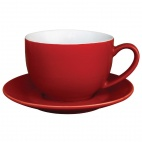 Caf̩ Cappuccino Cups Red 340ml 12oz - GK076
