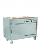 MSB18 Bain Marie Top Mobile Servery