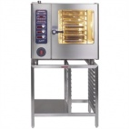 MBG611 Multimax 6 Grid Natural Gas Combi Oven With Handshower