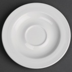 CG033 Classic White After-Dinner Saucer
