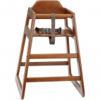 Dark Wood High Chair