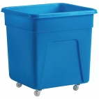 DN599 185 Ltr Blue Polyethylene Trolley