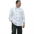 A600-L Pisa Executive Chefs Jacket - White