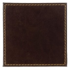 CE296 Faux Leather Coaster