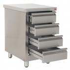 Ambient Pedestals For Countertop Fryers