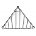 Triangular Shelf for Vogue Wire Shelving 18 in