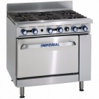 IR-6/N 6 Burner Natural Gas Oven Range