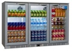 SP3BC-SH 274 Bottle Triple Door Back Bar Cooler
