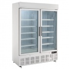 GH507 920 Ltr Display Freezer with Light Box