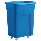 DN597 130 Ltr Blue Polyethylene Trolley