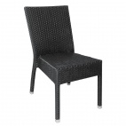 CF159 Wicker Side Chair Charcoal (Pack of 4)