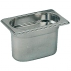 K077 Stainless Steel 1/9 Gastronorm Pan 100mm