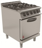 Dominator Plus G3161D/N Natural Gas Four Burner Open Top Range