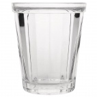 Cabot Panelled Glass Tumbler 260ml