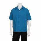 Cool Vent Chef Shirt Blue XS