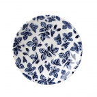 Churchill Vintage Prints Georgian Saucer Blue 141mm