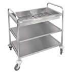 CC365 Deep Tray Clearing Trolley
